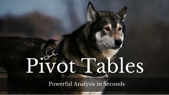 Pivot Tables – Powerful analysis in seconds