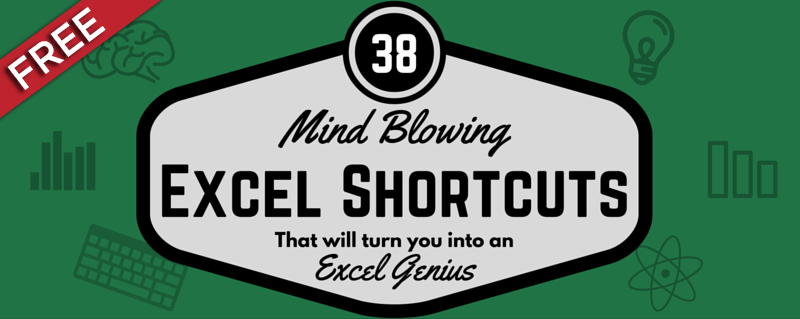 38 Excel Shortcuts